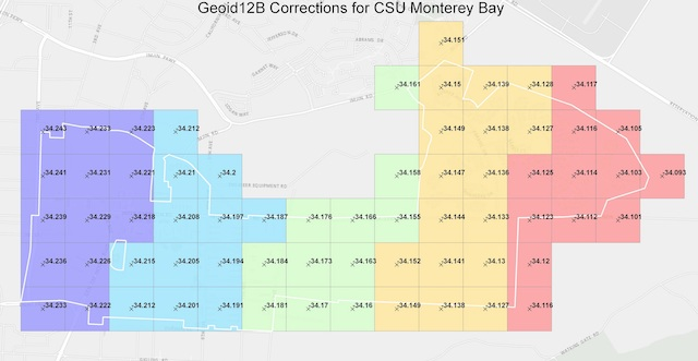 CSU Monterey Bay Tackles High-Accuracy RTK and Elevations with Collector
