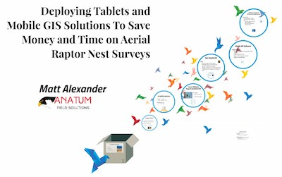 Tablets & Mobile GIS to Save Money & Time on Aerial Raptor Nest Surveys