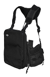 Ruxton Tablet Chest Pack (Black)