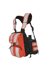 Ruxton Tablet Chest Pack (Hi-Viz with Front Pockets)