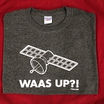 Men's Jerzee WAAS UP?! shirt
